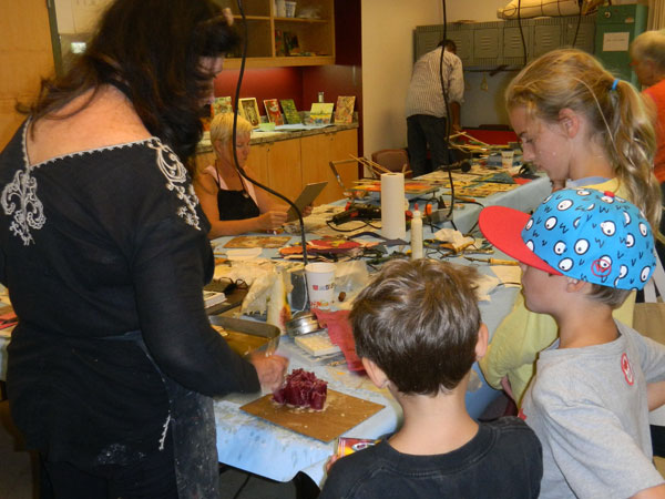 Young Admirers of Encaustic